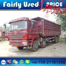 Used Chinese Brand Shacman Tipper Truck 8*4 of Shacman F3000 Dump Truck