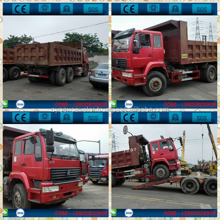 Used Howo 6*4 dump truck, 10 wheels tipper truck for sale (whatsapp: 0086-15800802908)