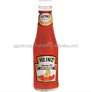 Heinz Extra Hot Chilli Sauce 300g bottle/ Vietnam Chili Sauce Bottle