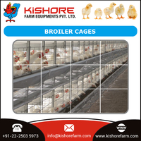 High Quality Poultry Cage Chicken Egg Broiler Cage / Layer Poultry Cage