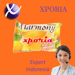 HARMONY Fruity Soap Bar LEMON 70gr | Indonesia Origin | Cheap popular herbal transparent soap with long lasting fragrance