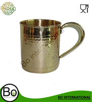 Brass Barrel Mug Gold look