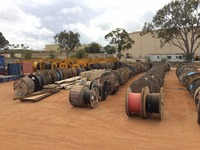 Sale of Large Qty of Copper Cable, Pipes, Containers, Construction, Fabrication & Civil Materials