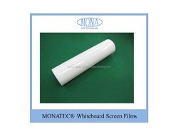 flexibility and High quality pet protecting and writing film white board for white board Made by Kyoto manufacturer, Japan