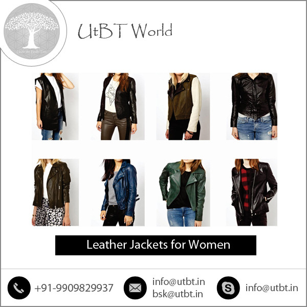 Hot Seller Selling Custom Made Leather Jackets for Women at Affordable Rates