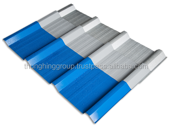 TH RIB 30 Metal roofing tile from Malaysia