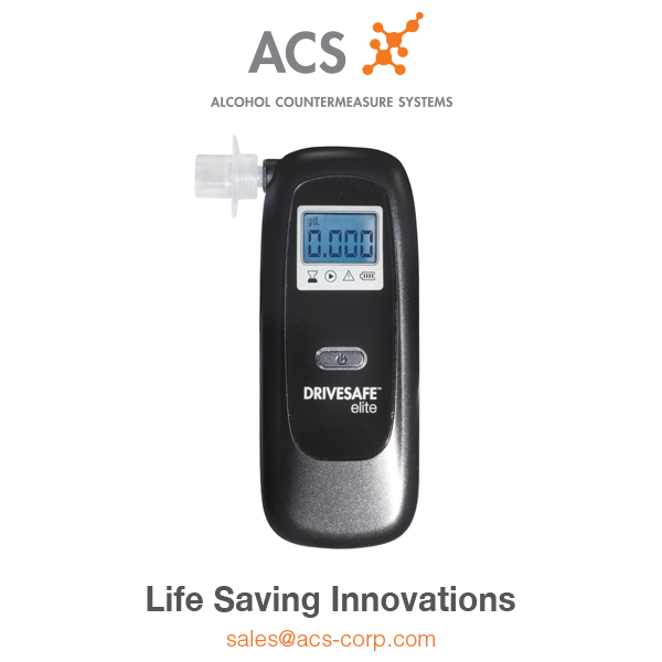 DRIVESAFE Elite Portable Breathalyzer/Alcohol Tester for Personal Use