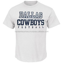 Dallas cowboy t shirt custom printing football t-shirt manufacturer plus size design your own wholesale t-shirts