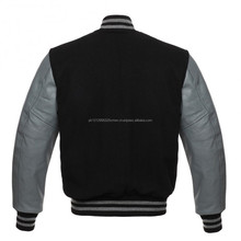 Sublimation custom man/woman winter varsity jacket/ Leather jackets