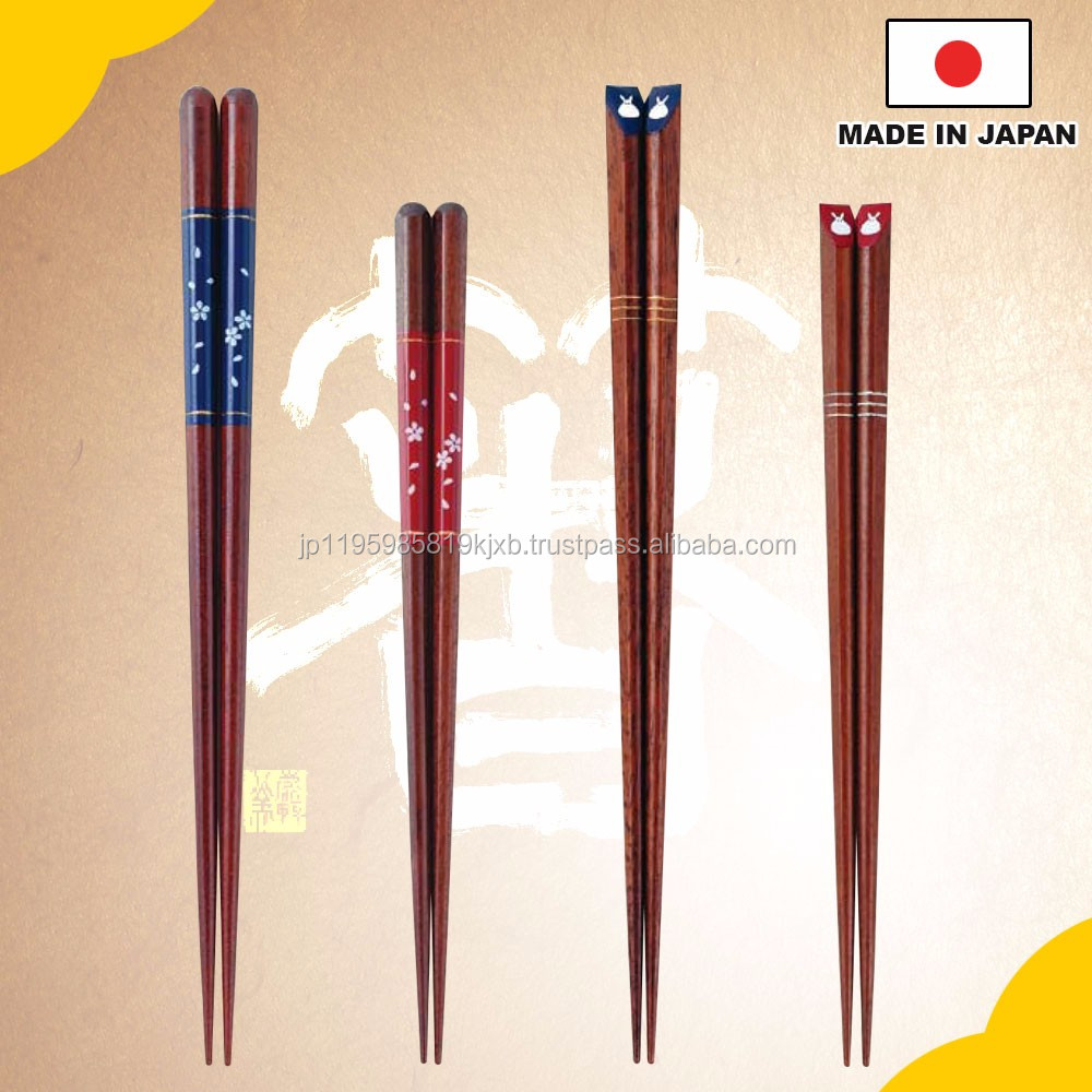 "Beautiful and High-quality Restaurant use chopstick , Chopsticks ""Cherry Blossoms"" Design with detailed work made in Japan"
