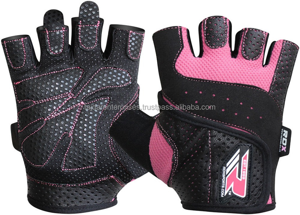 RDX Gel body Building weight lifting gloves
