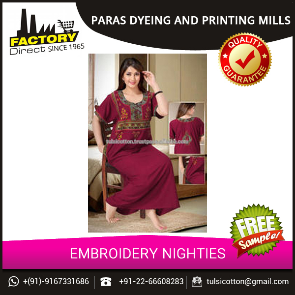 Wholesale Women Fancy Nighty Designs from India at Sale Price