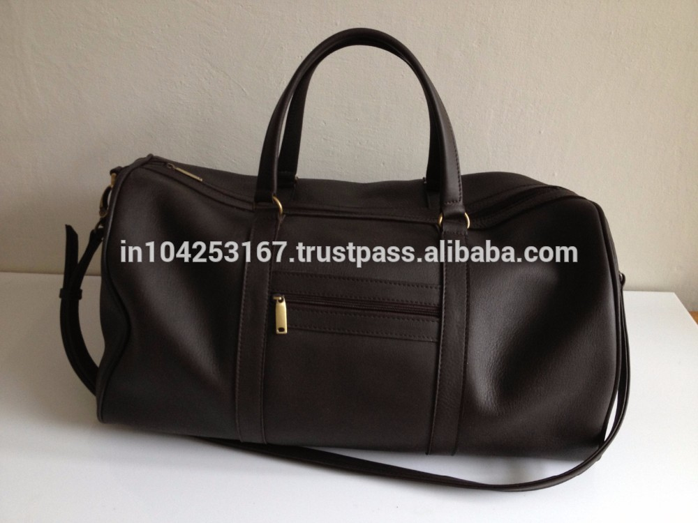Top Quality Easy Leather Travel Duffle Bag