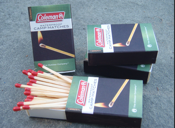 safety matchstick in box for hotel
