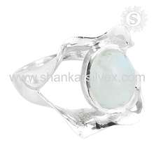 Take On Rainbow Moonstone 925 Sterling Silver Jewelry, Indian Silver Jewelry, Handmade Silver Jewelry Exporters