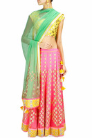 X-mas Latest Pink Lehenga Newyear Shadi Fashion Partywear Chaniya Choli