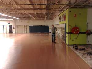 European quality epoxy self-levelling floor paint