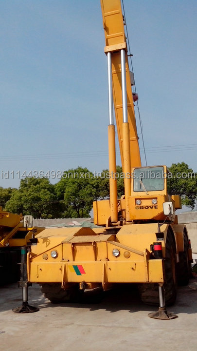 used grove RT750 50t RT980 80 ton rough terrian crane for sale