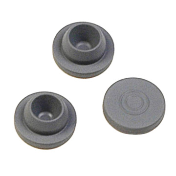 13mm, 20mm Grey/Red Rubber Stopper