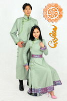 Custom design Mongolian traditional women clothing- Deel