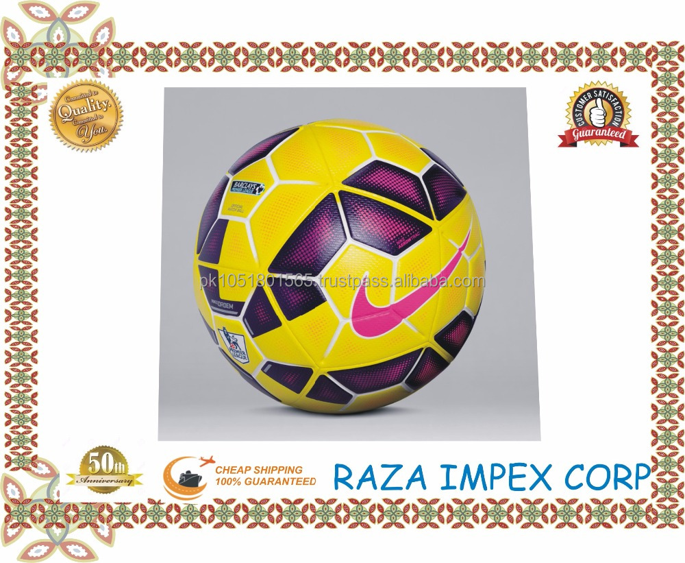 Cheap Hand Stitched Soccer Balls / Football Sialkot Pakistan/ Machine Stitched Football - custom soccer ball - Promotional Ball