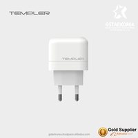 [TEMPLER] Wall Travel Charger 2.1A Output USB 2Port for Samsung smart phone