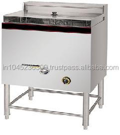 Free Standing Stainless Steel Commercial Gas Fryer Model No. HGF-75