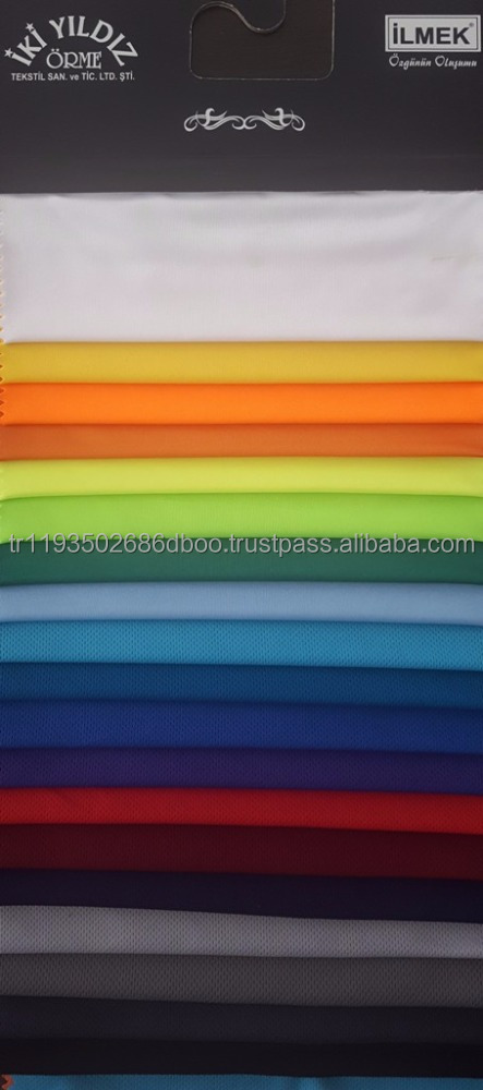 %100 polyester knitted fabric working clothes