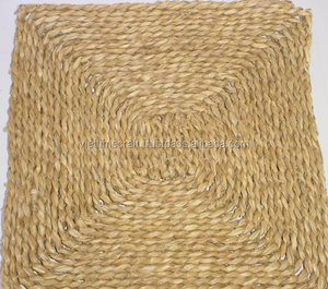 Wholesale eco-friendly natural seagrass mat, doormat hand woven seagrass