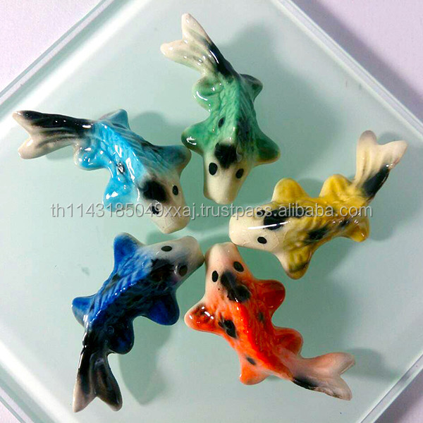 List manufacturers of miniature ceramic animals buy for Tiny koi fish
