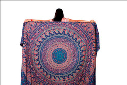 Indian Mandala Hippie Wall Hanging Tapestries Bohemian Twin Tapestry