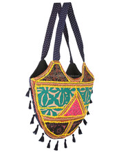 Indian Woman Vintage Banjara Bag For Ladies