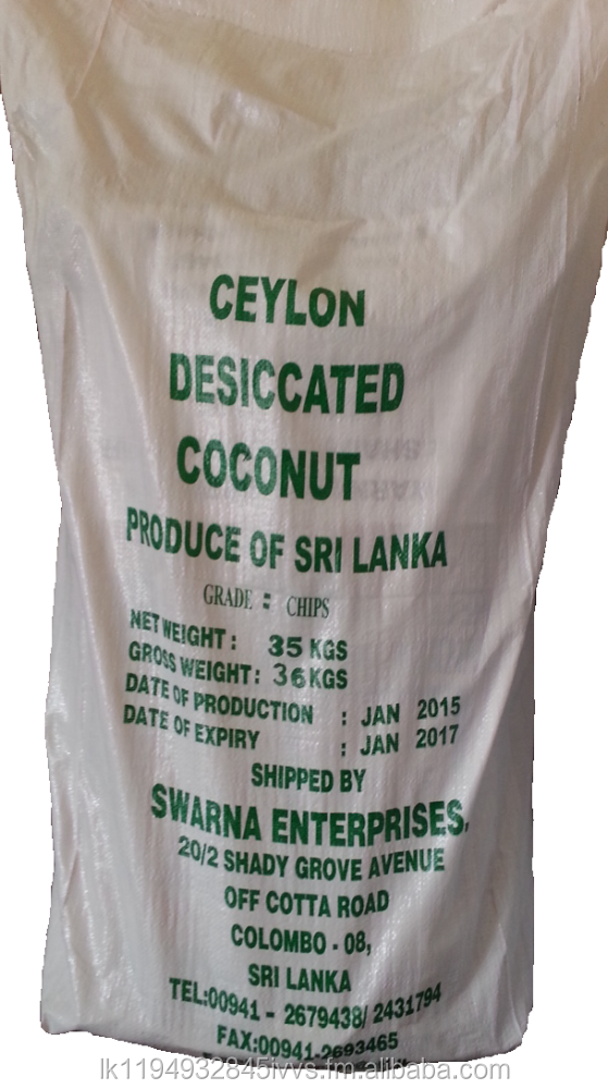 Desiccated Coconut(High &Low Fat)