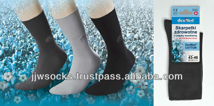 Bio-active DEOMED COTTON medical socks