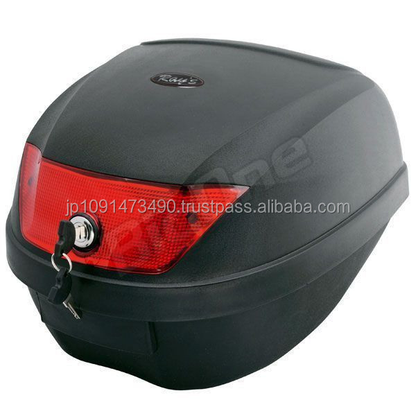 Various sizes and colors of tail box top case motorcycles comes with attachments