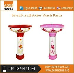 Separate Washroom Hand Craft Wash Basin Dealer Price