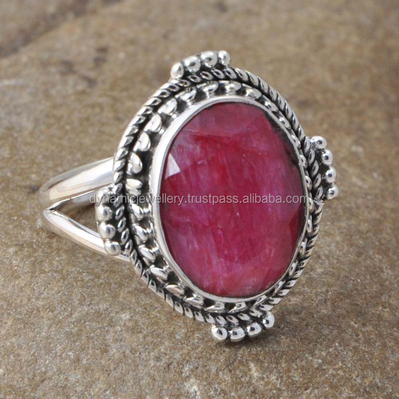 925 sterling silver jewelry new products sterling silver jewelry Ruby Ring
