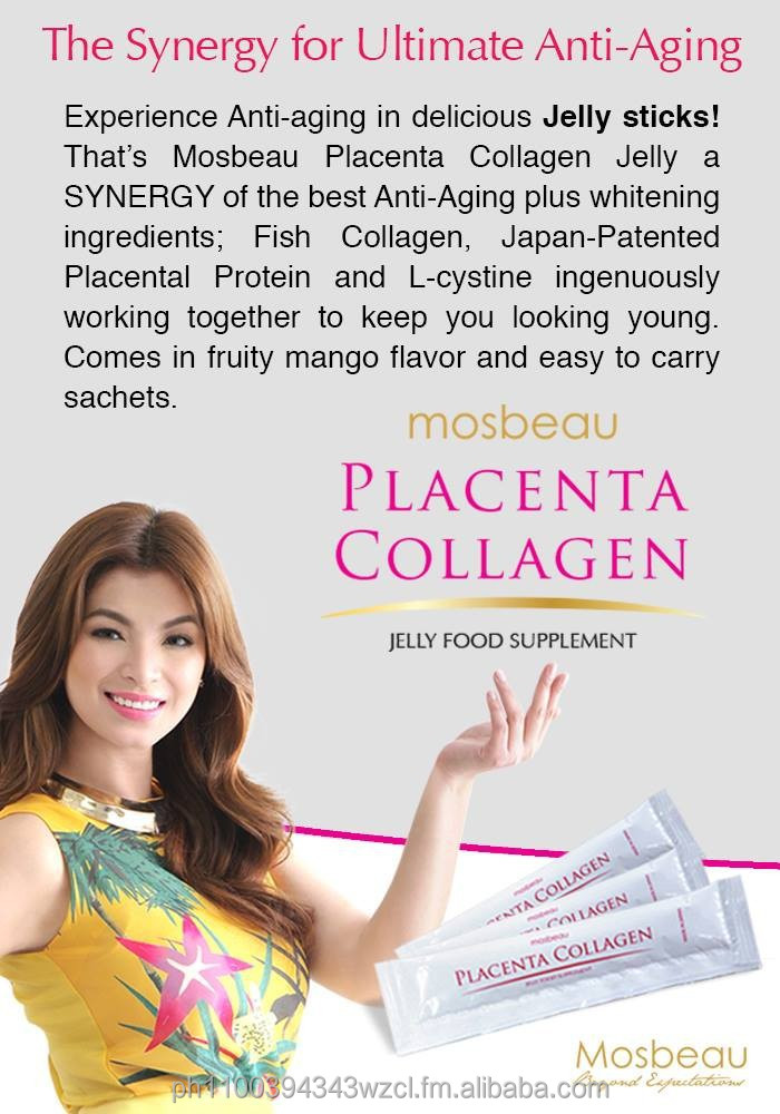 Mosbeau PLACENTA COLLAGEN JELLY FOOD SUPPLEMENT
