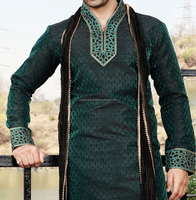A Custom Mens baan collar Shalwar Kameez with velvet ,High quality fashion mens shalwar kameez