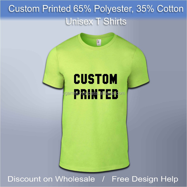 fluorescent polyester cycling sports t shirts