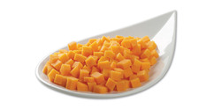Diced Pumpkin