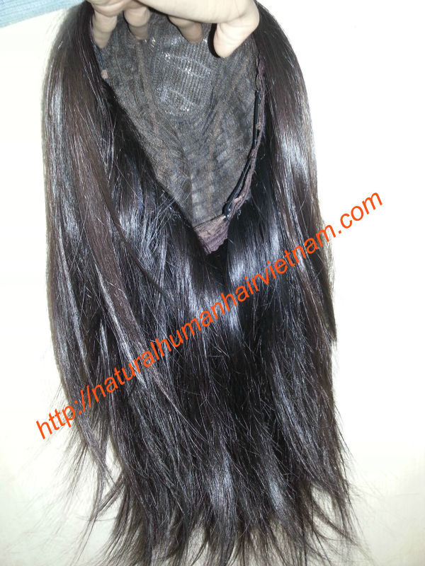 Remy human hair full lace wigs 100 human hair