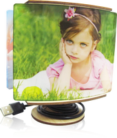 Personalised Kids' USB Cute Desk Lamp