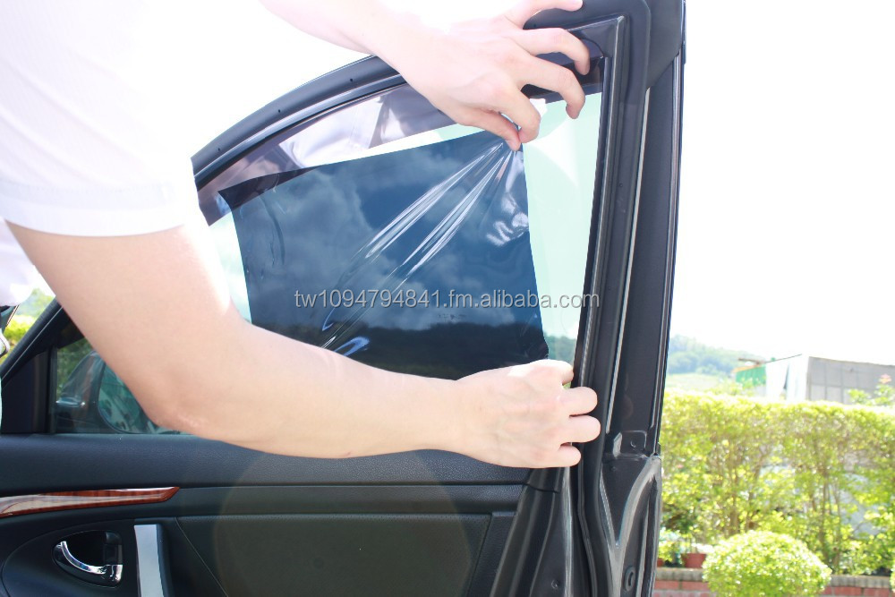 Static cling window tint film