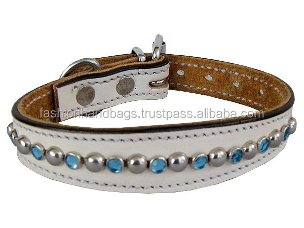 Leather Pet Collar Big Dogs Harnesses and leashes customized design available