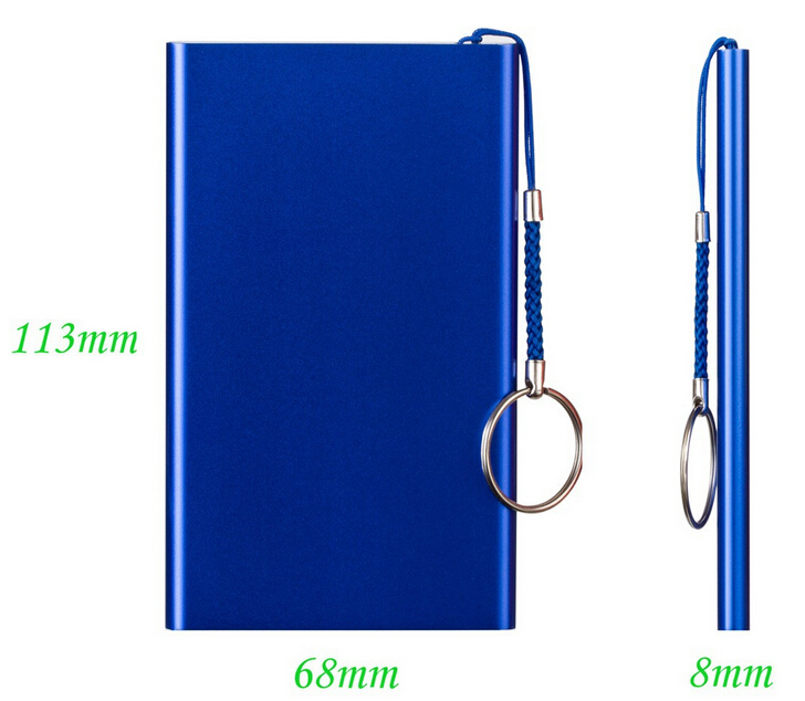 universal hight quality ultra slim 4000mah li-polymer battery credit card size power bank for macbook pro /ipad mini