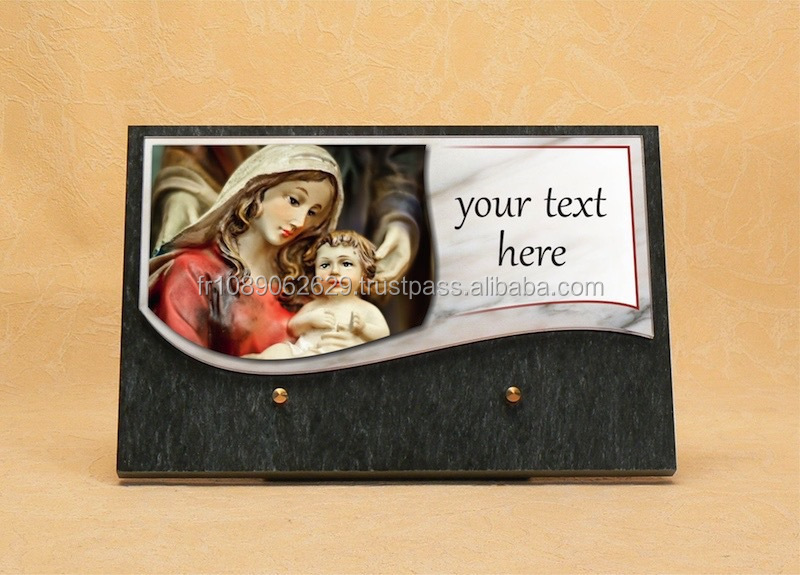 Promotional handmade funeral plaque - Weeding decorations