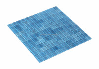 Swimming Pool Hand Painted Crystal Glass Mosaic (HVZ-702)