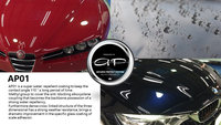 High quality glass coating for motorcycle