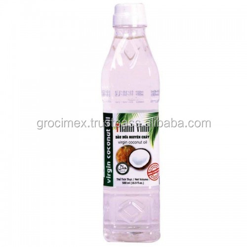 Best selling & High Quality Vietnam Coconut oil 500ml